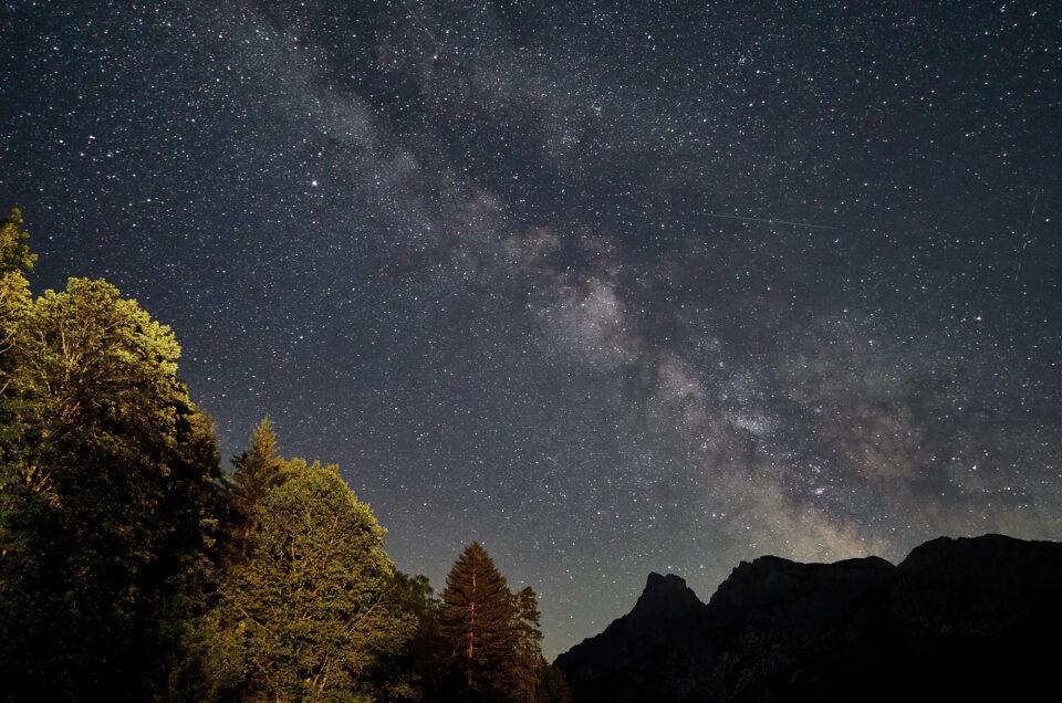 Milchstraße im Gesäuse